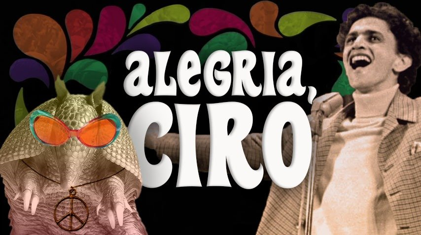 "Banner do Jingle ""Alegria, Ciro!"""